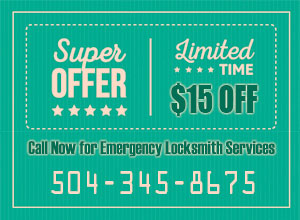 Locksmith New Orleans Coupon
